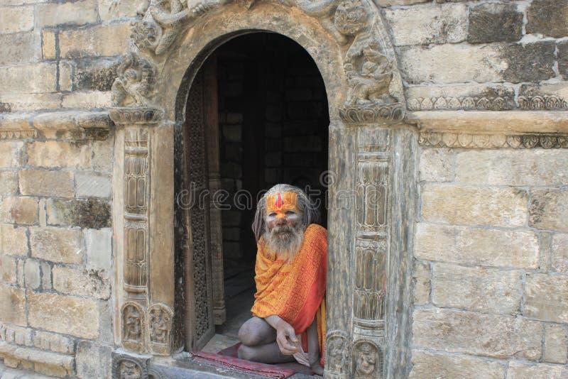 sadhu святейшего человека стоковая фотография rf