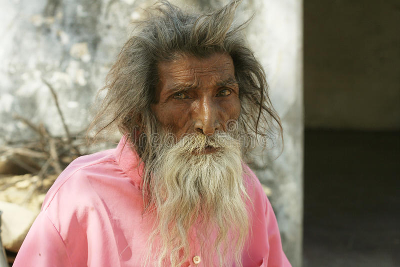 Sadhu, святой человек стоковые фото