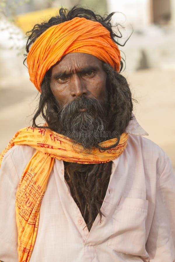 Sadhu, святой человек стоковое фото rf
