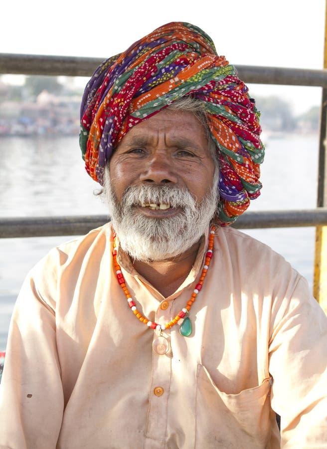 Sadhu, святой человек стоковая фотография rf