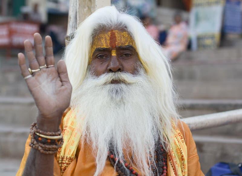 sadhu 2 стоковые фотографии rf