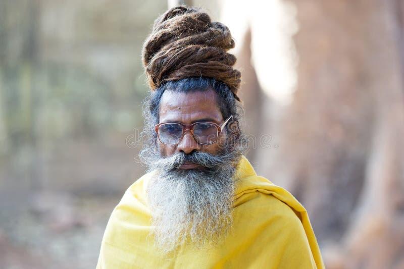 sadhu arkivfoton