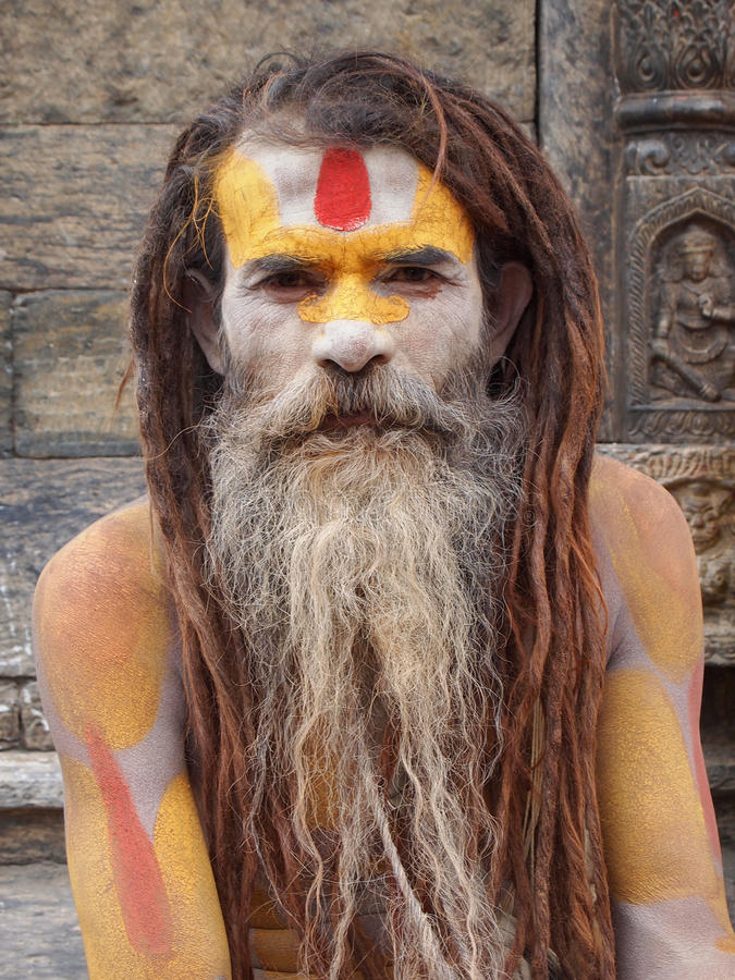 Sadhu images stock