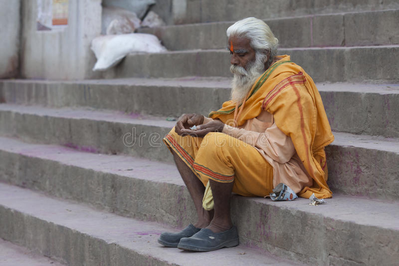 sadhu royalty-vrije stock afbeeldingen