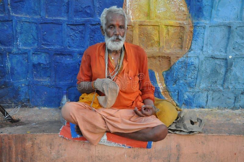 sadhu image stock