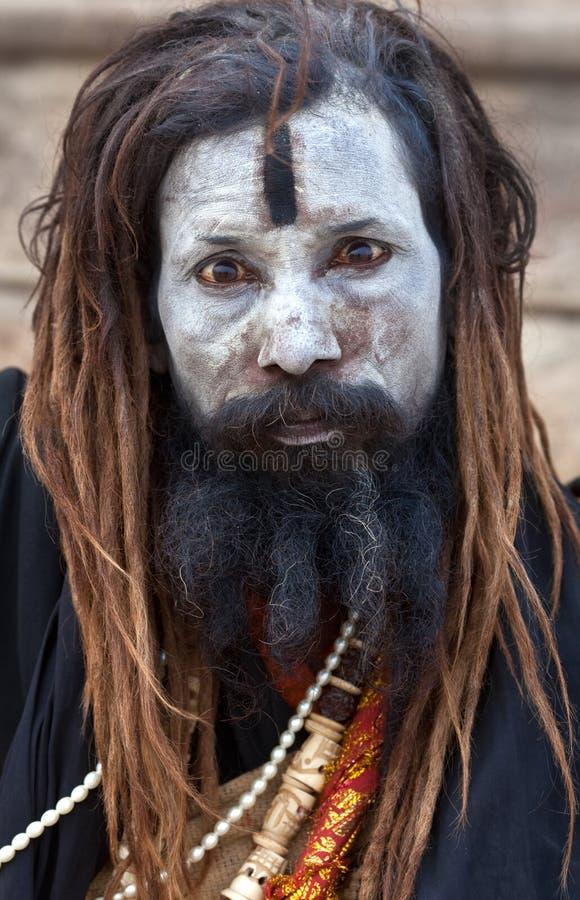 Sadhu d'Aghori photos stock