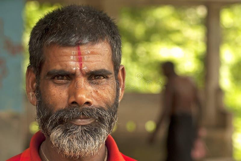 Sadhu (heiliger Mann) lizenzfreie stockbilder