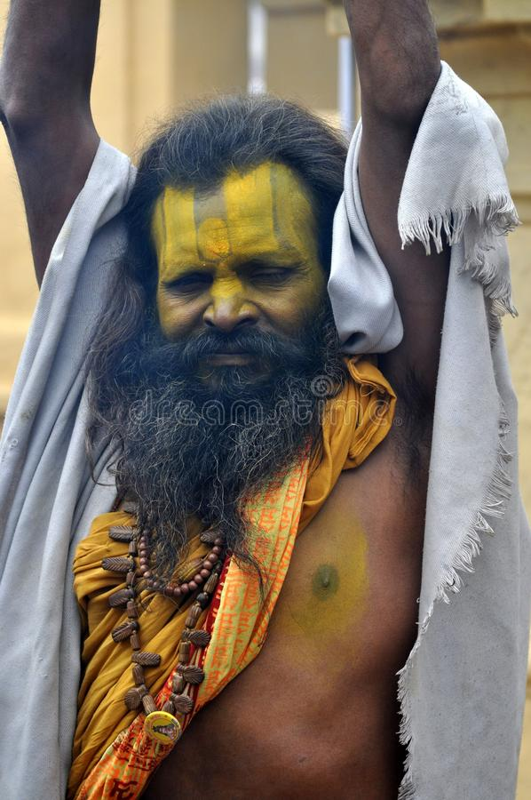 Download Sadhu (holy Man) From India Editorial Photo - Image: 18350446
