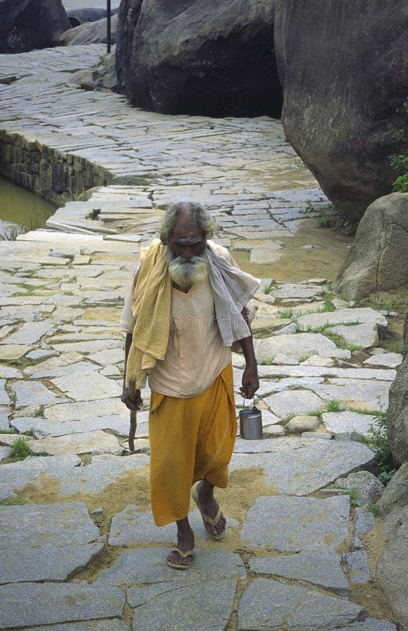 Sadhu indiano imagens de stock royalty free