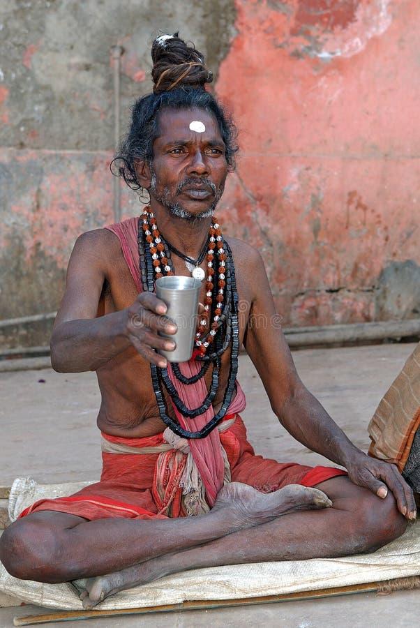 Sadhu indiano fotografie stock libere da diritti