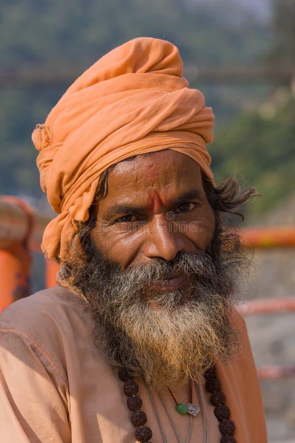 Sadhu indien image stock