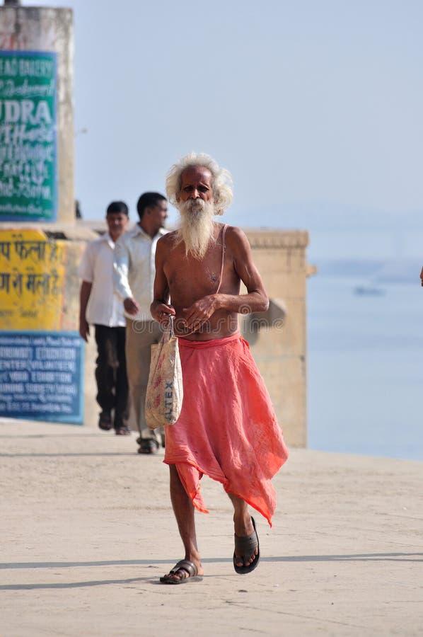 Sadhu indou photographie stock