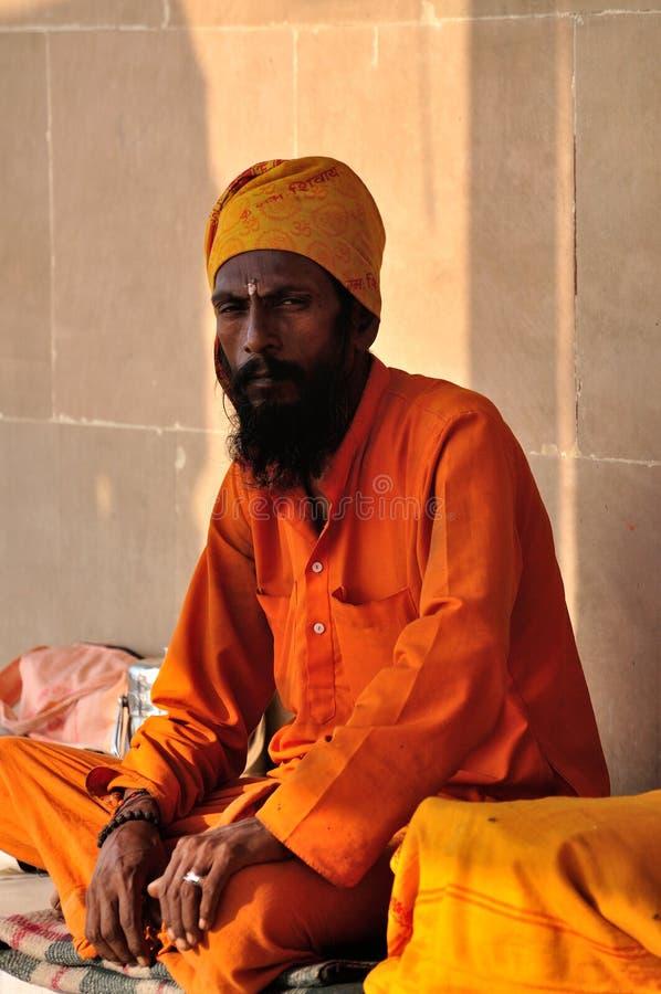 Sadhu indou image libre de droits
