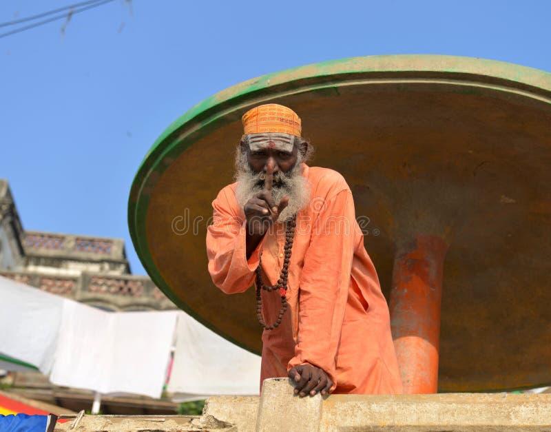 Sadhu indou photo libre de droits