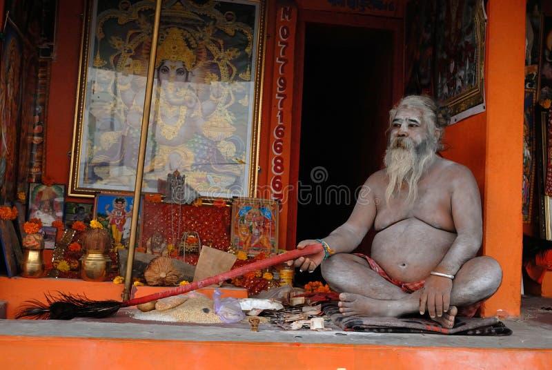 Sadhu no Hinduísmo fotos de stock royalty free