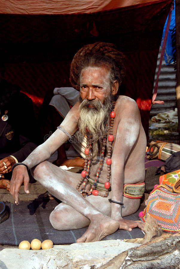 Download Sadhus, Holy Men of India editorial stock photo. Image of photography - 17811623