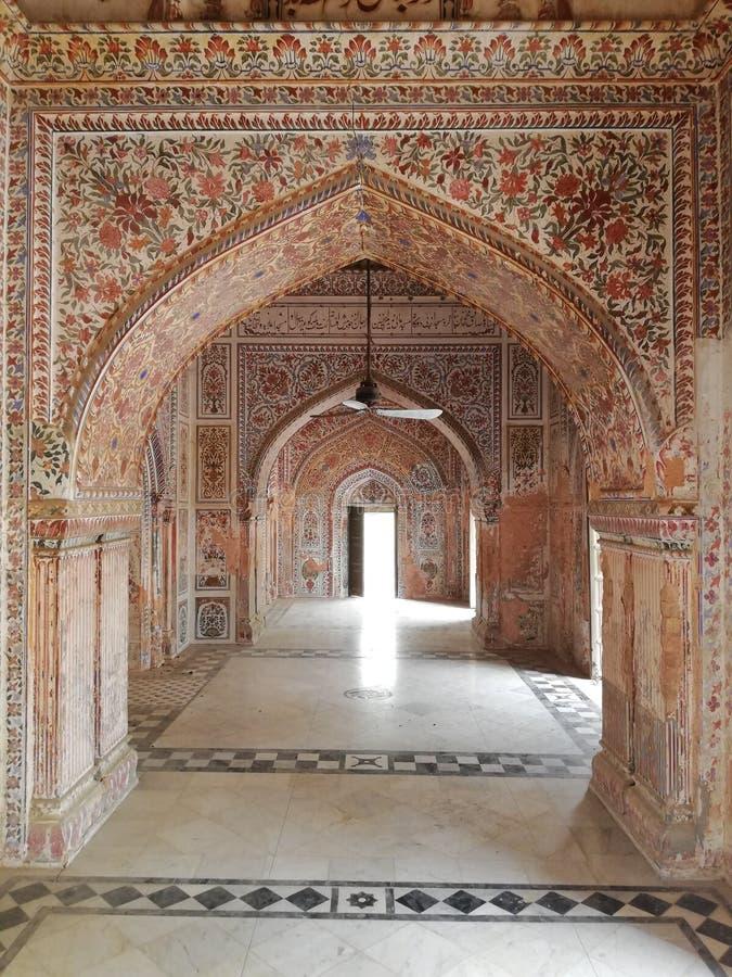 Sadiq Garh Palace Mosque fotografia stock