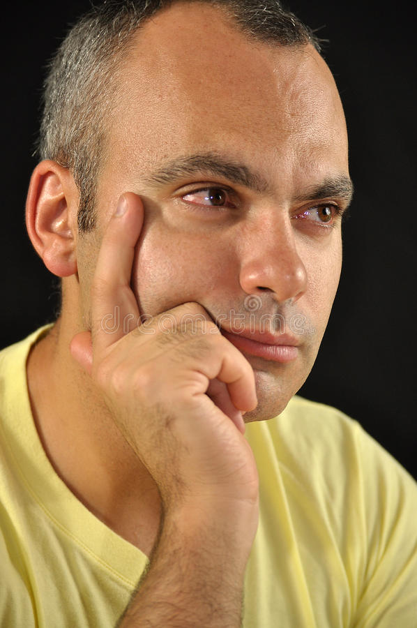 Download Sadness stock image. Image of unhappy, gaze, behavior - 16273071