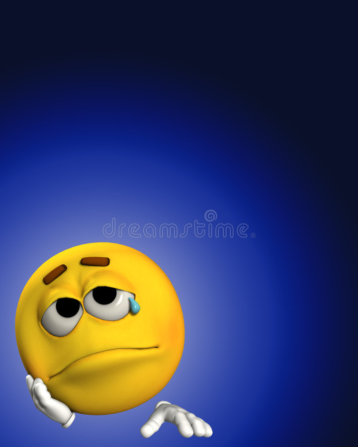 Download Sadness 2 stock illustration. Image of sorrow, unhappy - 4580836