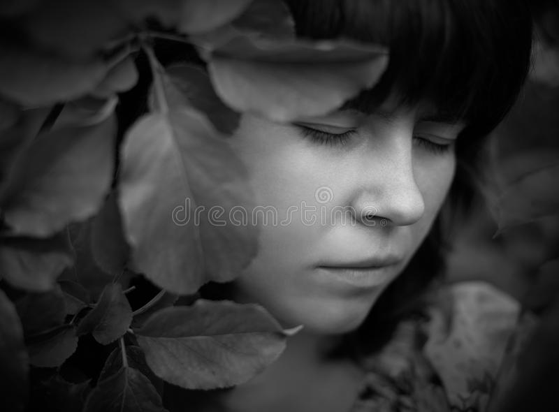 Download Sadness stock image. Image of hope, girl, fragility, look - 20325925