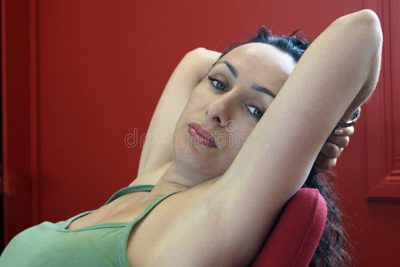 Download Sadness stock photo. Image of staring, sadness, woman - 6054232