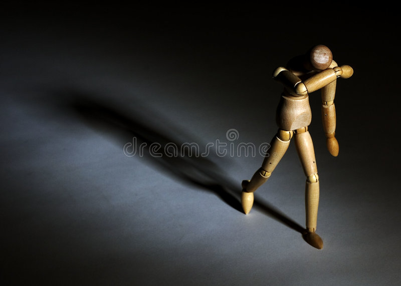 Download Sadness stock photo. Image of suffer, shadow, walk, grief - 652610