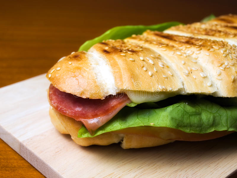 Sadwich stockfoto