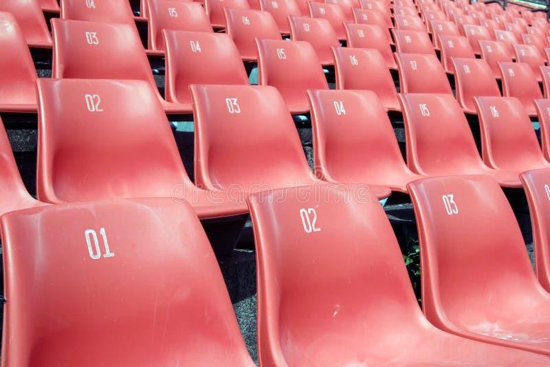 sadza na stadionie zdjęcie stock