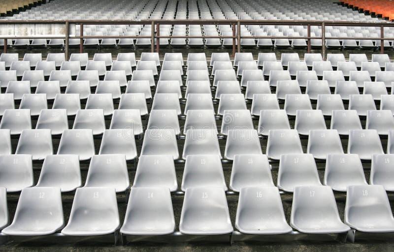sadza na stadionie obrazy stock