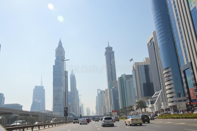 SAE - Ansicht an den Wolkenkratzern lizenzfreies stockbild