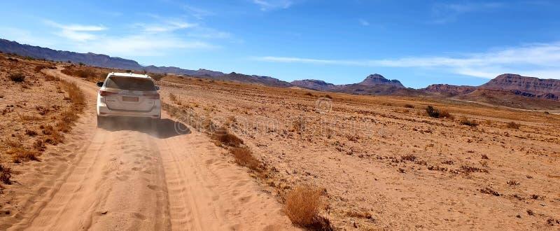 Safari bei Twyfelfontein stockbild