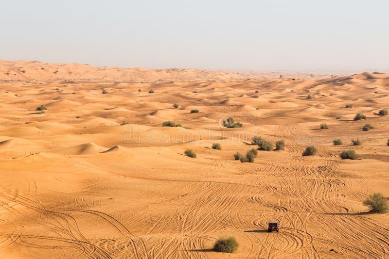 Safari de désert à Dubaï image libre de droits