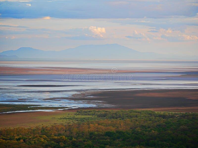 Safari de Manyara del lago en Afric foto de archivo libre de regalías