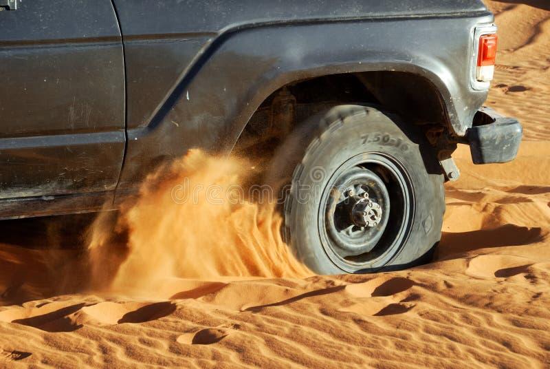 Safari del desierto, desierto del Sáhara, Libia imagen de archivo libre de regalías