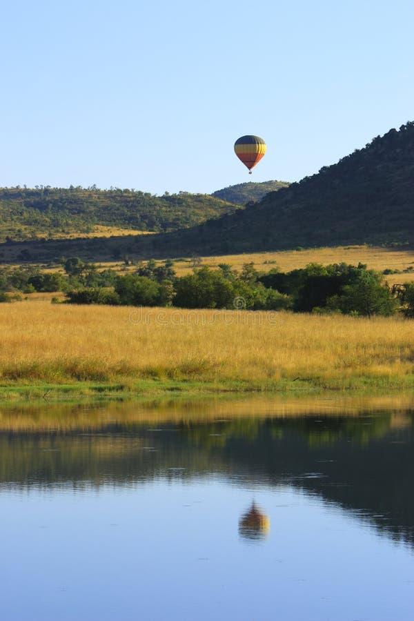 Safari do balão imagens de stock