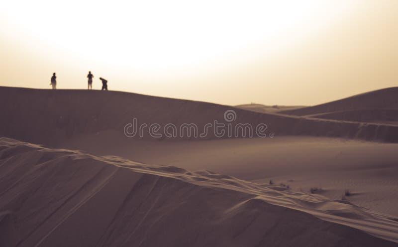 Safari do deserto de Dubai foto de stock
