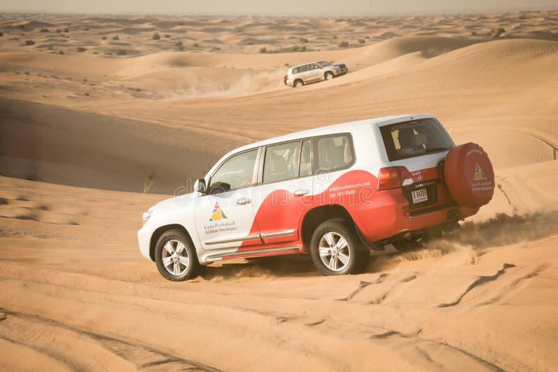 Safari do deserto perto de Dubai, UAE fotografia de stock royalty free