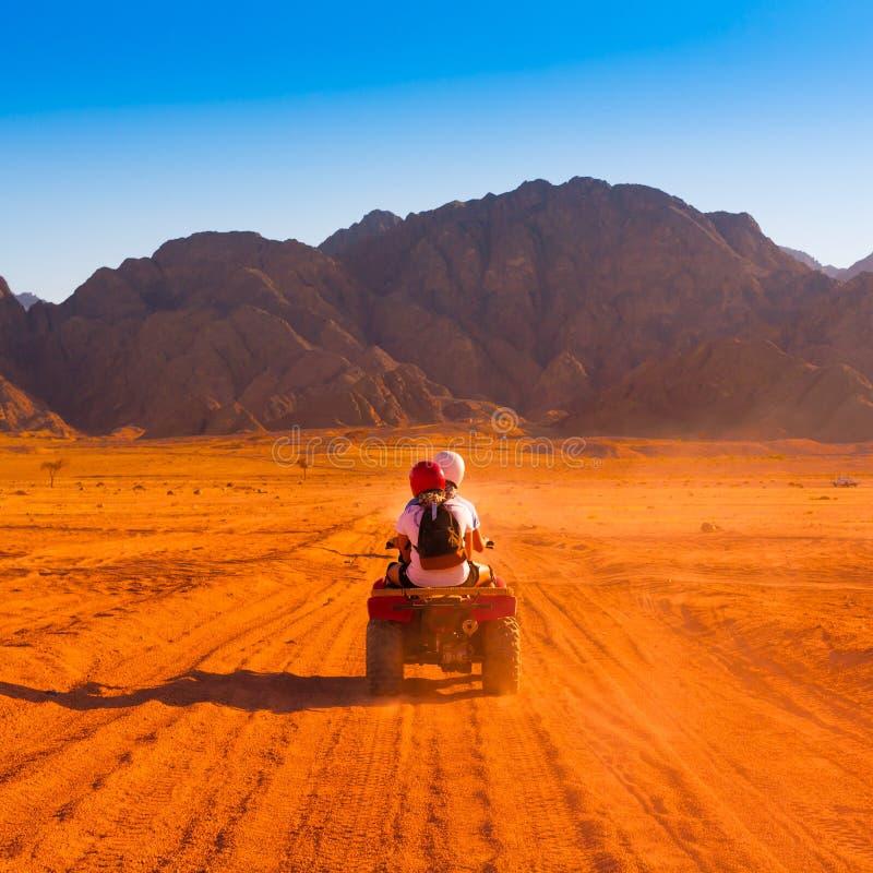 Safari egitto del motociclo immagini stock libere da diritti