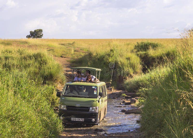 Safari em kenya imagem de stock