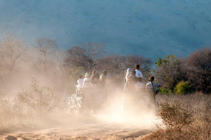 Safari en parc national de Ranthambore, Inde image libre de droits