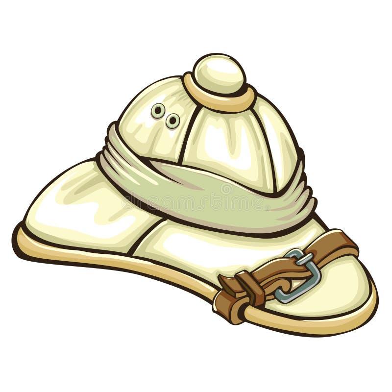Safari Hat stock illustrationer