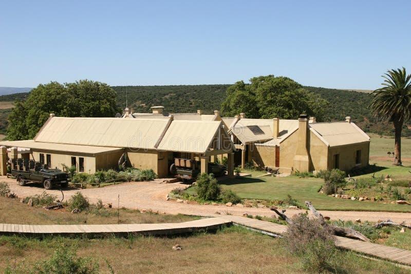Safari Lodge royalty free stock photo