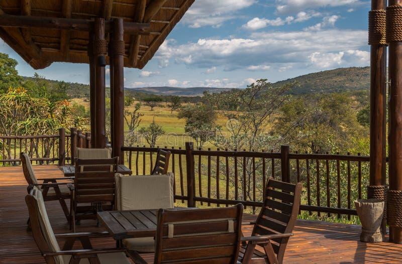 Safari Lodge images libres de droits