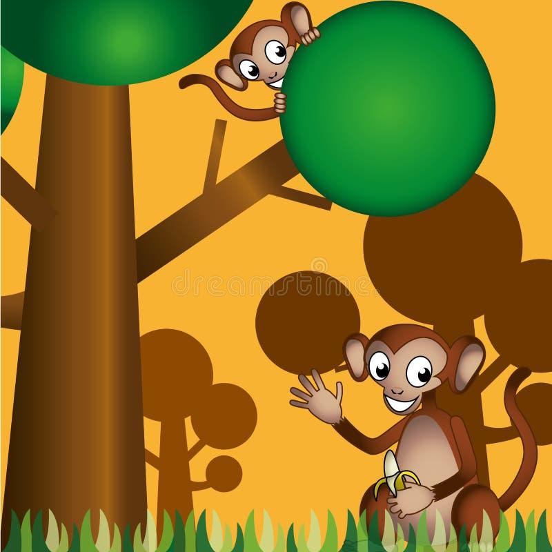 Safari royalty free illustration