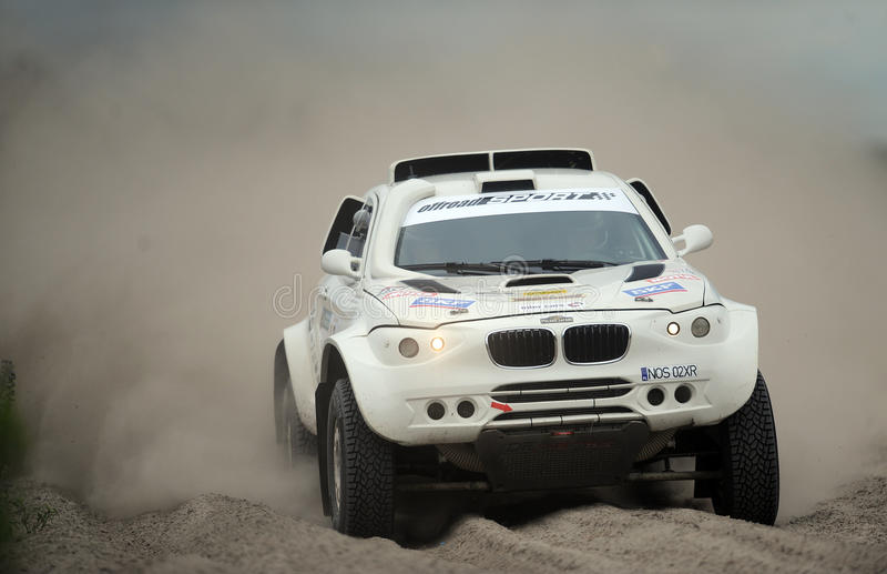 Safari Rally Cross Championship polaca foto de archivo libre de regalías