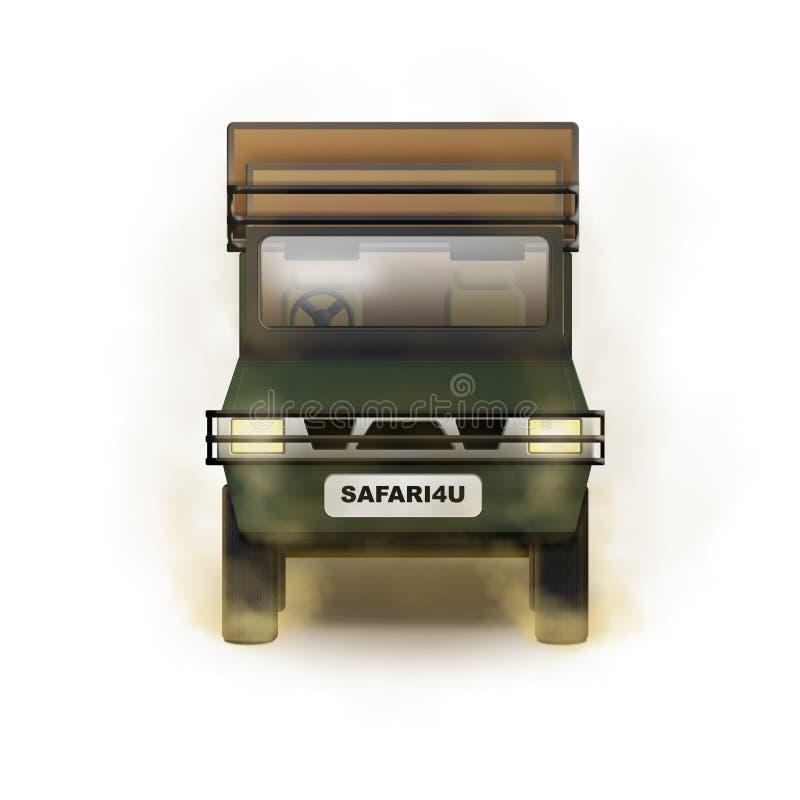 Safari Truck Illustration images stock