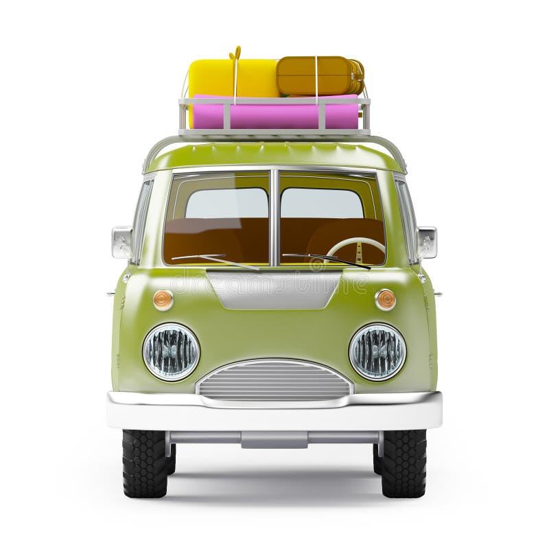 Free Safari Van With Roofrack Front Royalty Free Stock Photos - 61564228