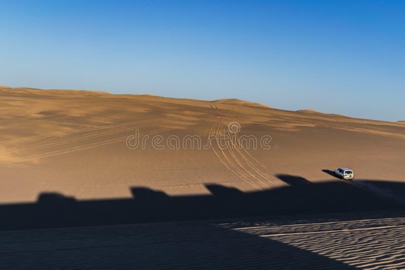 Safarireise in Siwa-Wüste, Ägypten stockfotografie