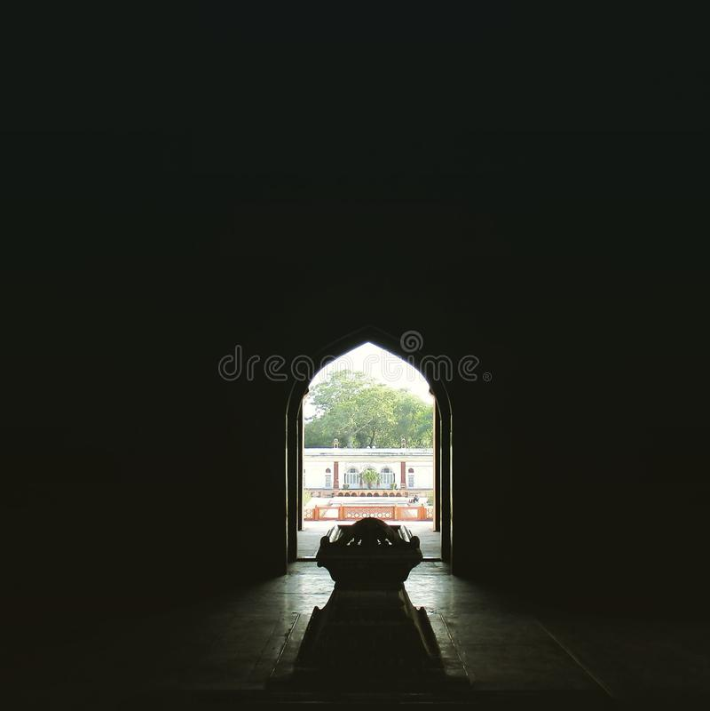 Safdarjang坟茔(世界遗产) 库存图片