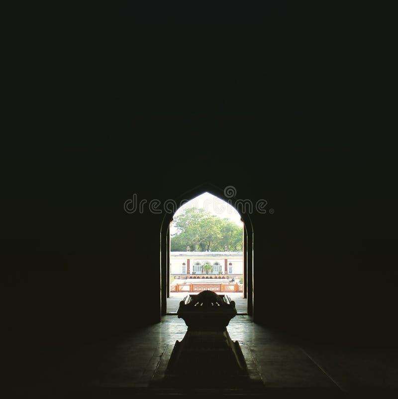 Safdarjang grobowiec (światowego dziedzictwa miejsce) obrazy stock